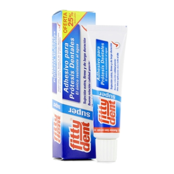 Fittydent - Super Adhesivo Protesis Dentales; 40gr.