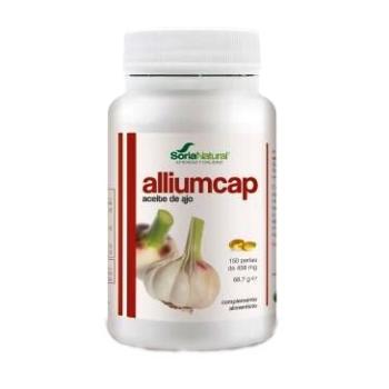 Soria Natural Alliumcap Perlas de Aceite de Ajo 300 mg; 150perlas.