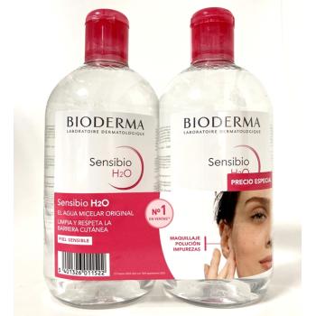 Bioderma Sensibio H2O, 500ml, Pack 2Un.